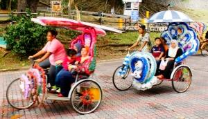 Trickshaw of Melaka