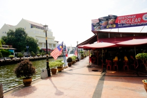 Popular with locals: Line Clear joint, Melaka River