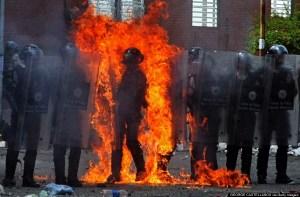 VENEZUELA-PROTEST-CLASHES