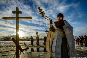 Russian Orthodox Church Celebrates The Epiphany
